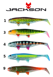 Jackson The Fish 12cm 3-pack