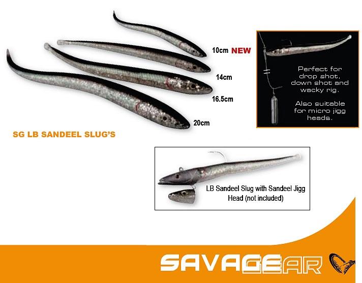 Sandeel Slug + tillbehör