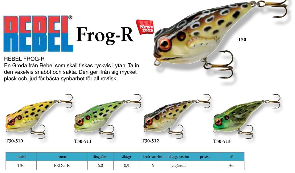 Rebel Frog-R (6cm 8,9g)