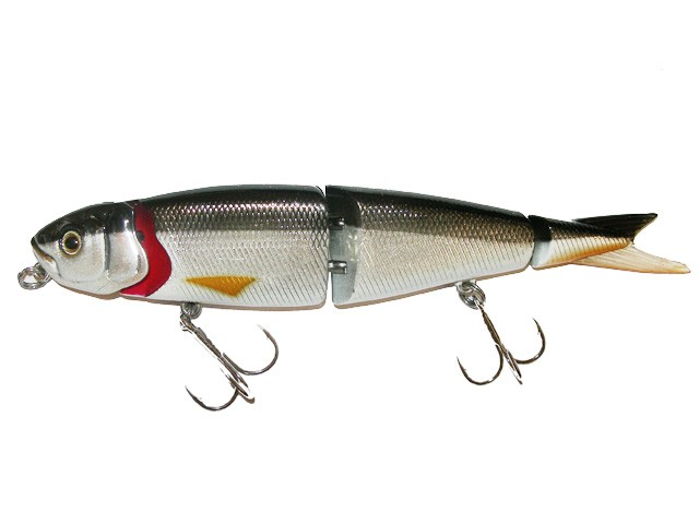 4-play swim & jerk ( Jerkbait. Available in sizes 9.5, 13, 19 and 25cm)
