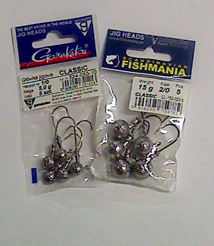 Gamakatsu / Fishmania jiggskallar 2-5pack. REA 19:-!!!