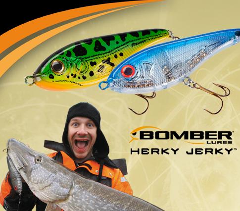 Herky Jerky (Bomber jerkbait)