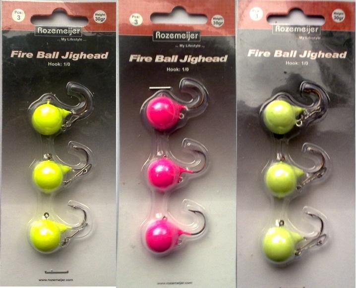 Fireball jiggheads
