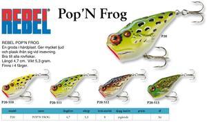 Rebel Pop N Frog (4,7cm 5,3g)