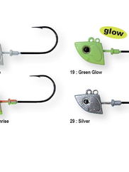 Blade jig head (4-pack)