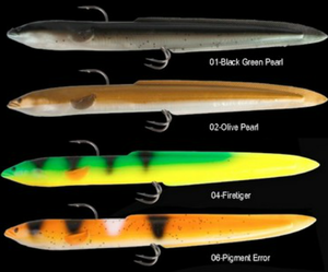 Real Eel Slug 25cm 50g 2-pack